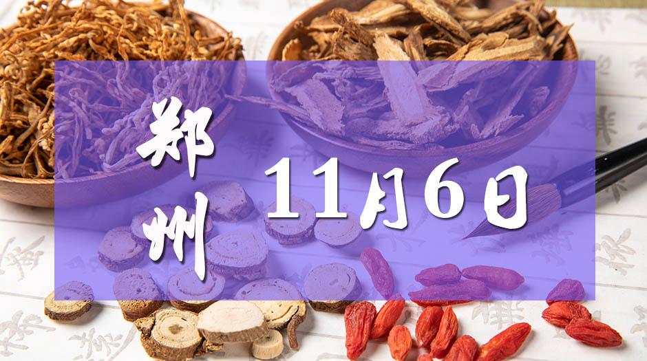 11月6日郑州药交会